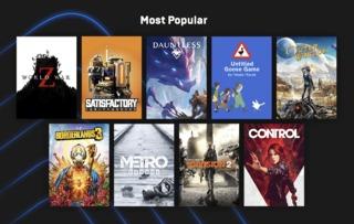 Jeux les plus populaire sur l'EGS (janvier 2020)