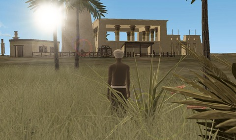 A Tale in the Desert - A Tale in the Desert se trouve un nouveau pharaon