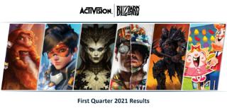 Activision Blizzard : premier trimestre 2021
