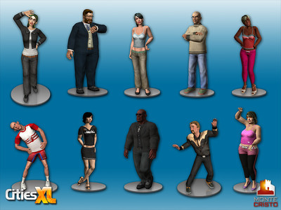 Les avatars de Cities XL