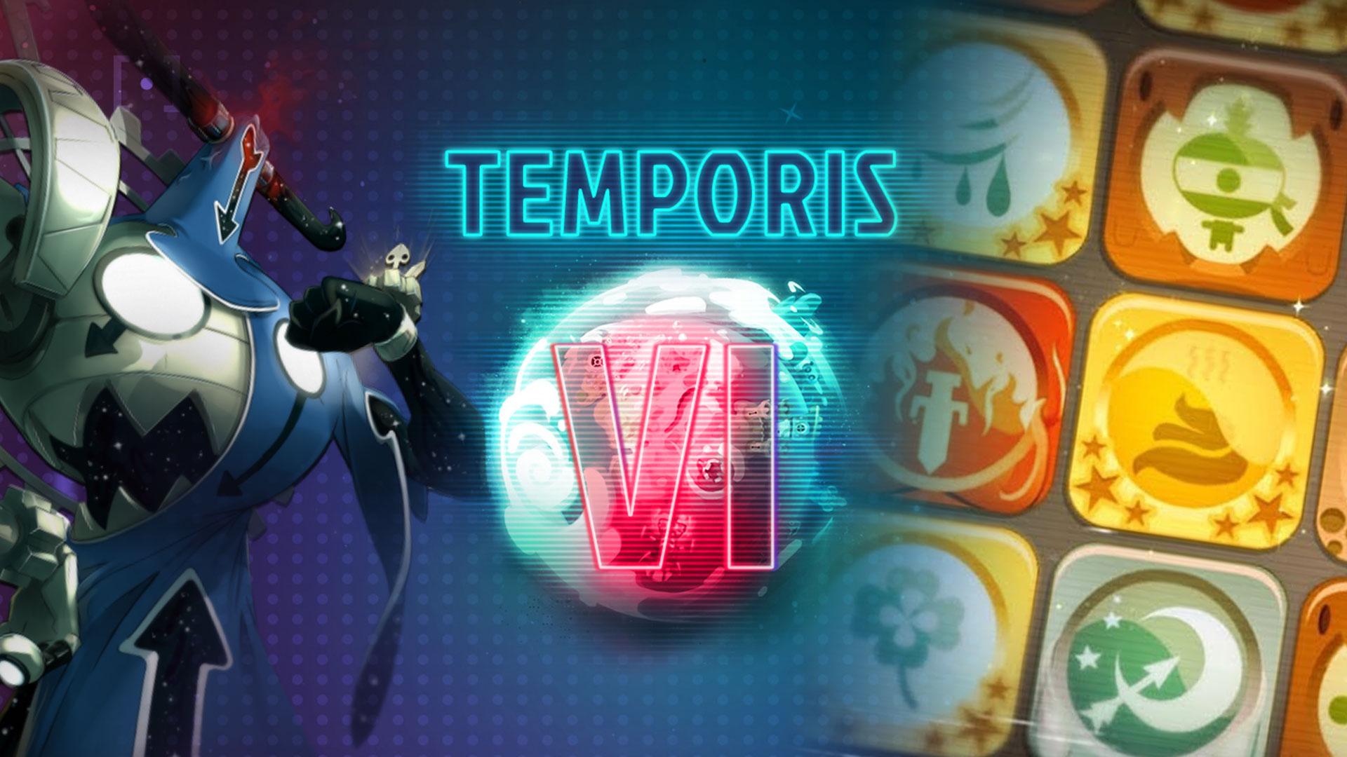 Temporis 6 - Liste des sorts et obtention