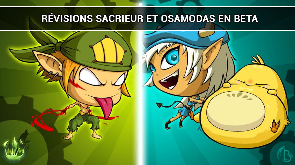 Refontes Sacrieur & Osamodas