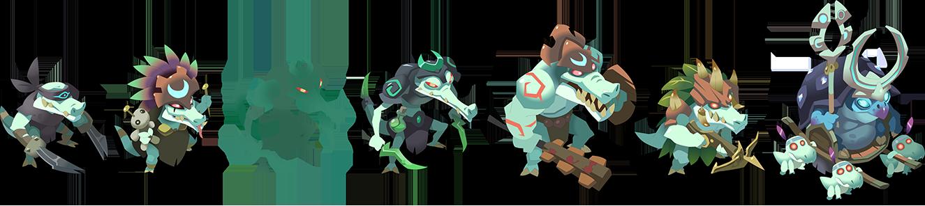 Monstres de l'Île de Crocuzco