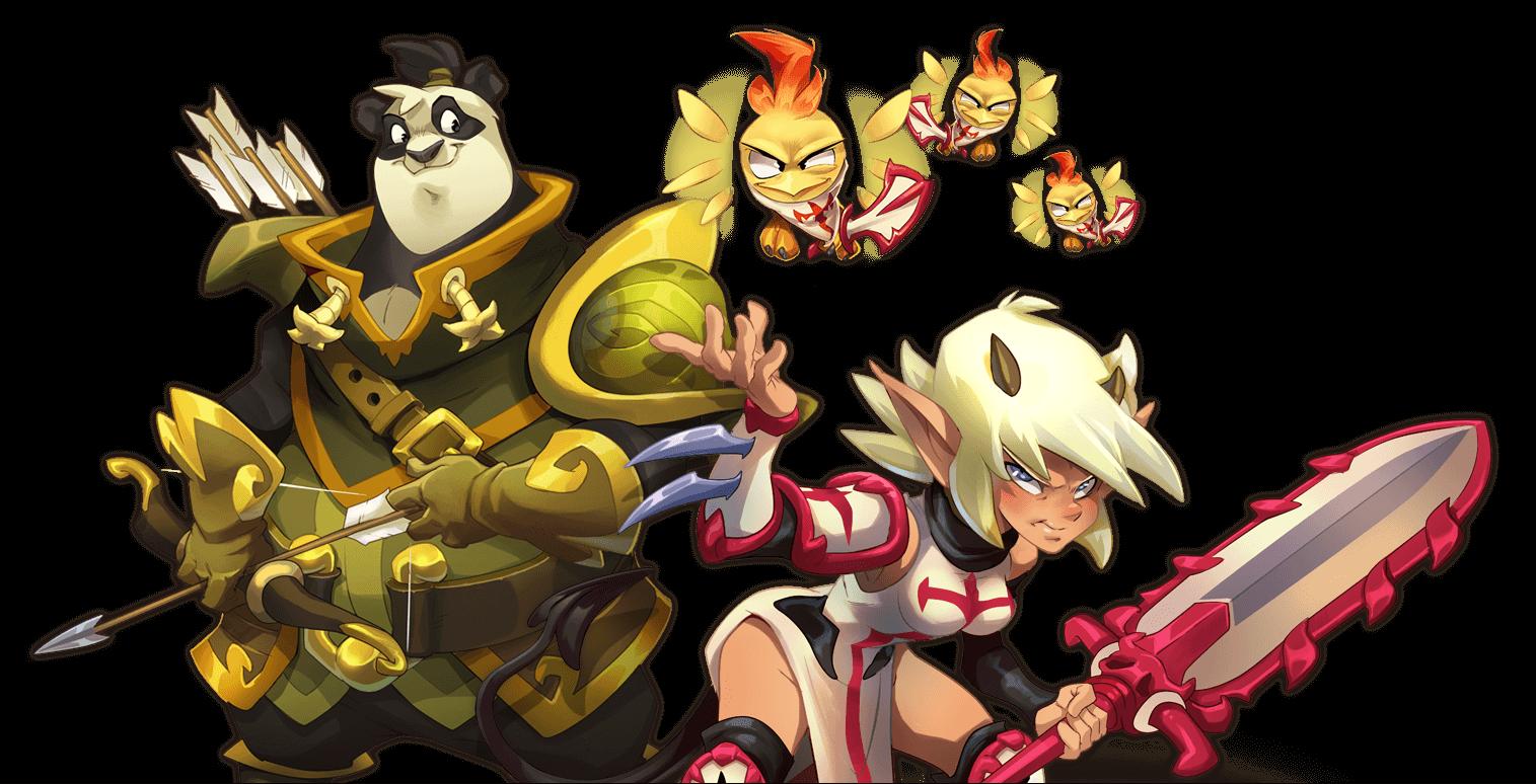 Les personnages pourront avoir des classes de plusieurs classes différentes !