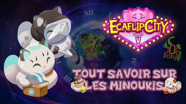 Temporis 5 - Obtenir un Minouki, bonus des cartes d'écaflip