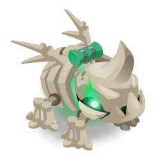 Harnachement de Volkorne Squelette