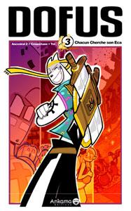 Couverture du tome 3 du manga Dofus.