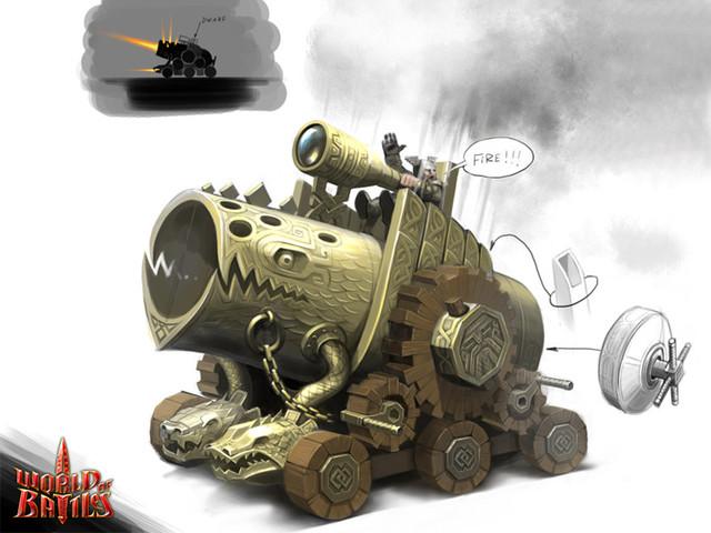 Machine de guerre naine