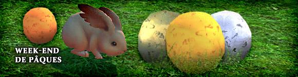 Week-end de Pâques sur TERA