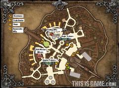 Carte de la ville de Velika