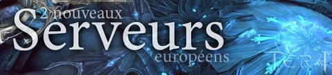 Deux nouveaux serveurs européens