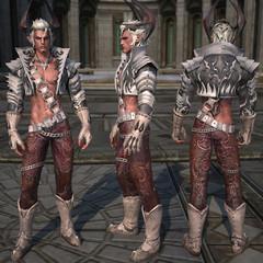 Castanic : Armure de cuir masculine