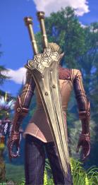 apparence d'une paire d'épée pour guerrier 02