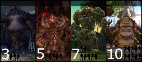 Les quatre nouveaux donjons de TERA