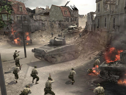 Company of Heroes Online - THQ signe avec Live Gamer pour monétiser Company of Heroes Online