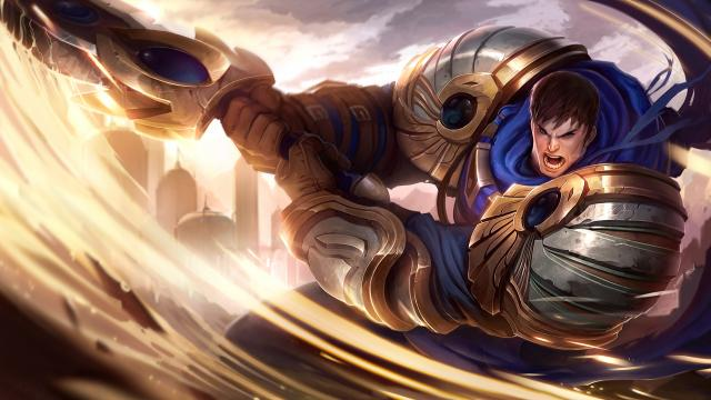 Refonte visuelle de Garen, Force de Demacia
