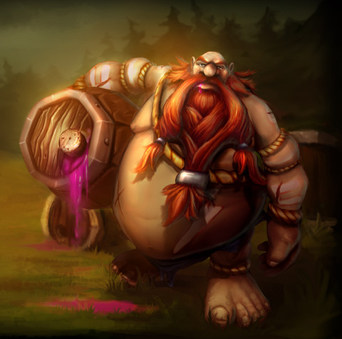 League of Legends - Gragas fait son entrée dans League of Legends