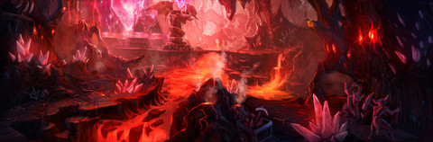 League of Legends - Carte : La Chambre du Magma s'illustre