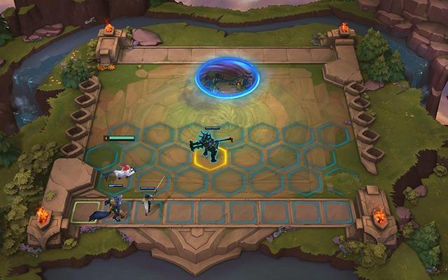 Mode « Combat tactique » de League of Legends