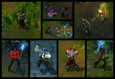Twisted Fate, spells