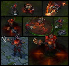 Nasus devient infernal sur League of Legends