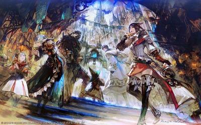 Ishgard, par Kazuya Takahashi