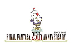 Final Fantasy 25th anniversary logo