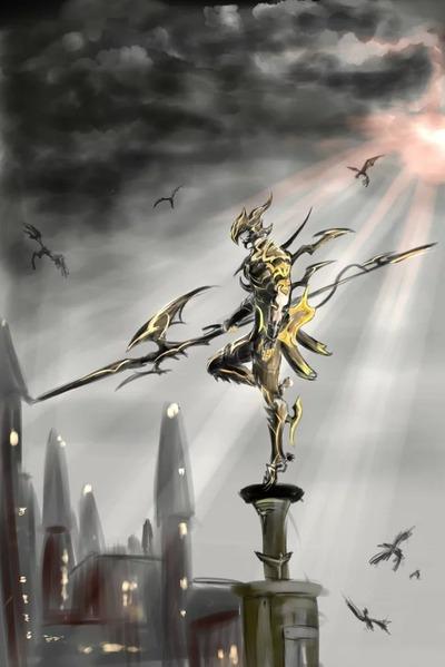 Dragon Knight par Antares1994