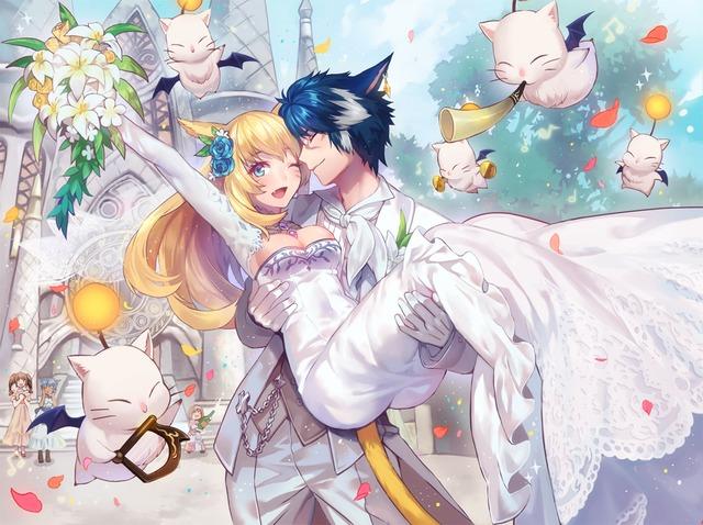 [FFXIV: Let's get married ~ par Rino