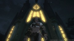Reogadyn devant un temple