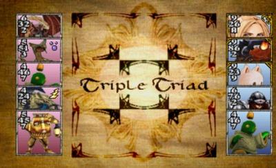 Triple Triad de Final Fantasy VIII
