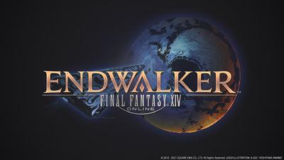 endwalker_reveal - FFXIVENDWALKERAnnouncementShowcase060221 FFXIV ENDWALKER logo EN