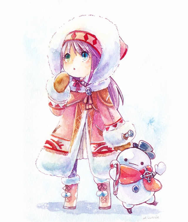 冬装備。 par MizoreAme