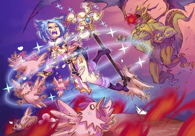 Final Fantasy XIV commission par Rafchu