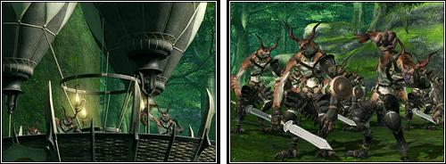 Ixal attaquant le hameau