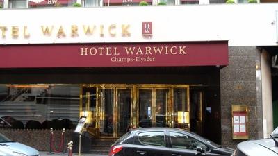 L'hôtel Warwick