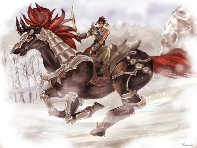 Riding on Ouma par Masapeko
