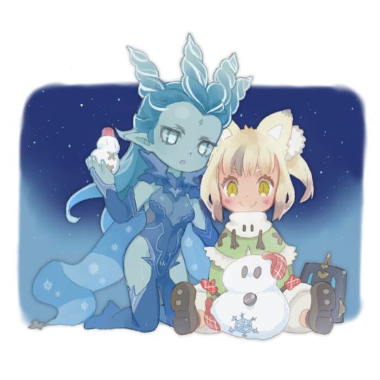 雪だるまつくーろー par ×