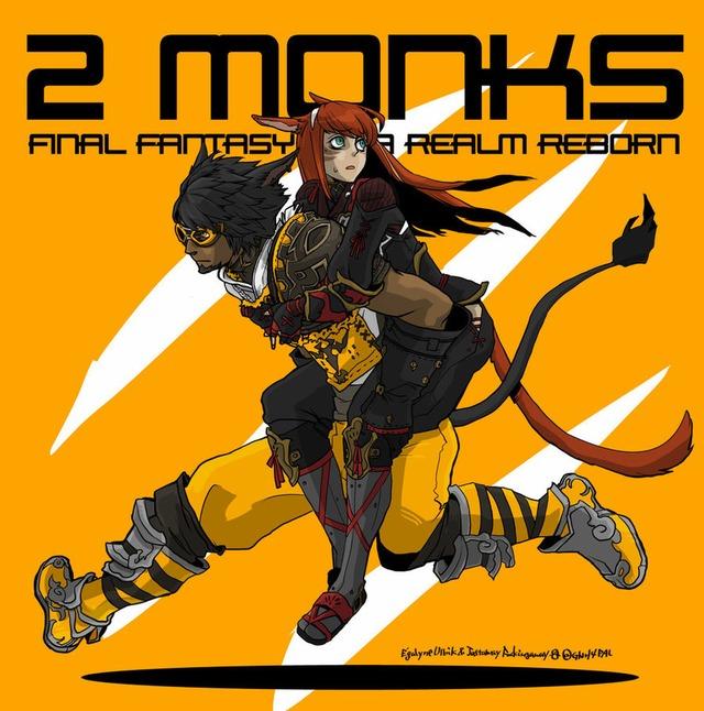 FF14 2 MONKS Free Request par PAL0527