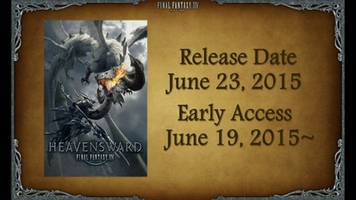 Dates de sortie de Heavensward