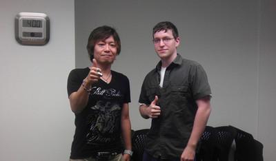 Naoki Yoshida lors de l'Interview de GamerEscape
