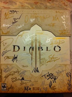 Boite ultra collector de Diablo III, cadeau de Blizzard pour Naoki Yoshida