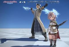 Costume de Lightning et Snow